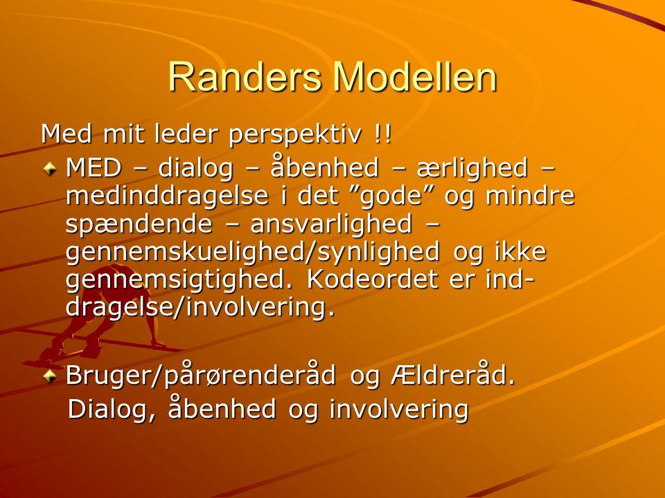 Randers Modellen Med mit leder perspektiv !!