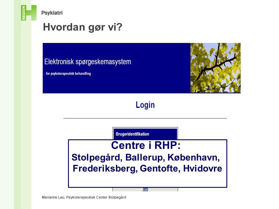 Stolpegård, Ballerup, København, Frederiksberg, Gentofte, Hvidovre