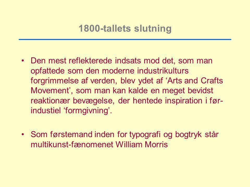 1800-tallets slutning