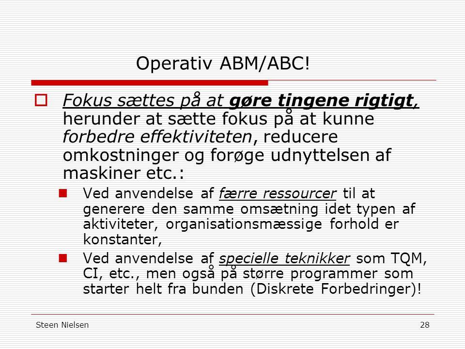 Operativ ABM/ABC!