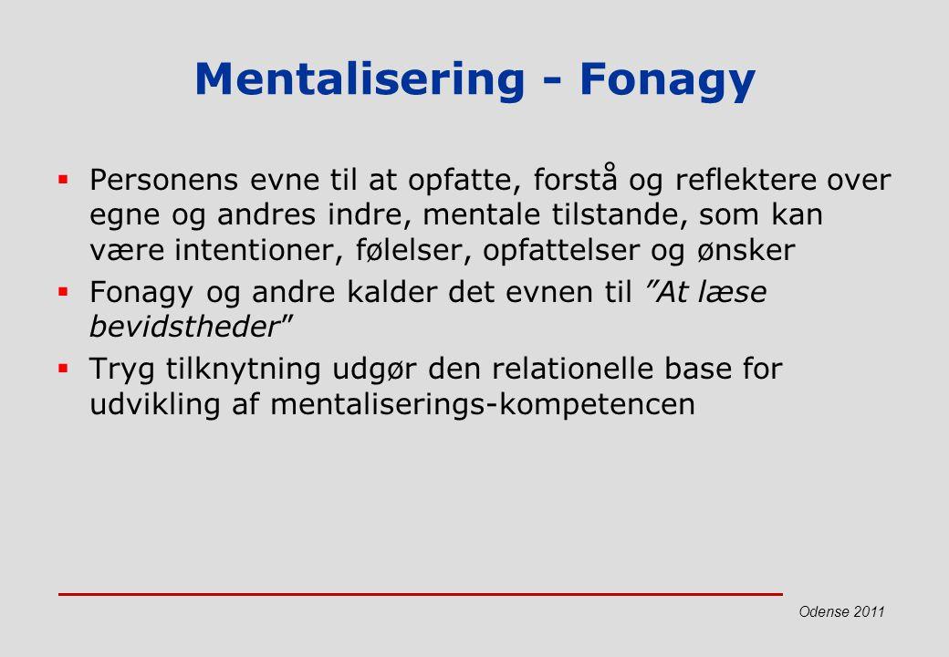 Mentalisering - Fonagy