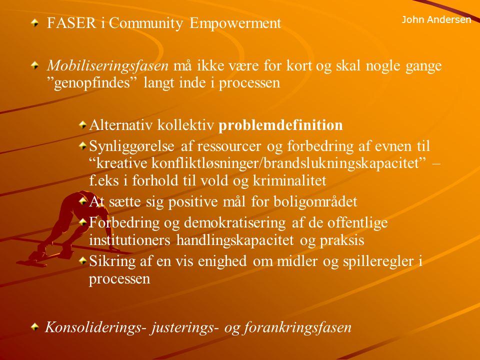 FASER i Community Empowerment