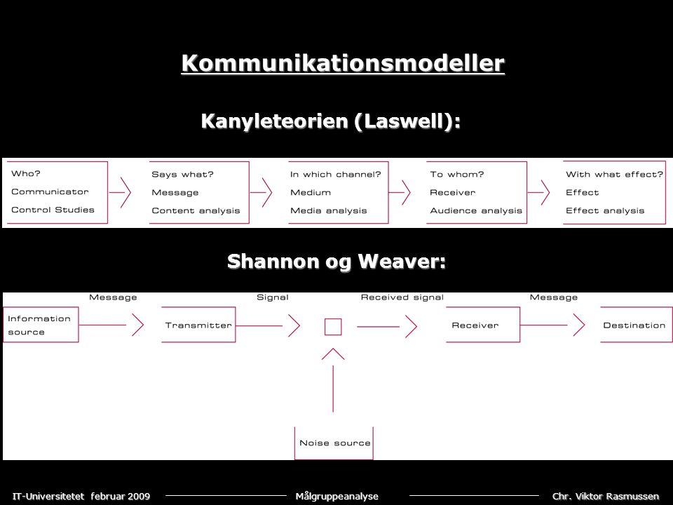 Kanyleteorien (Laswell):