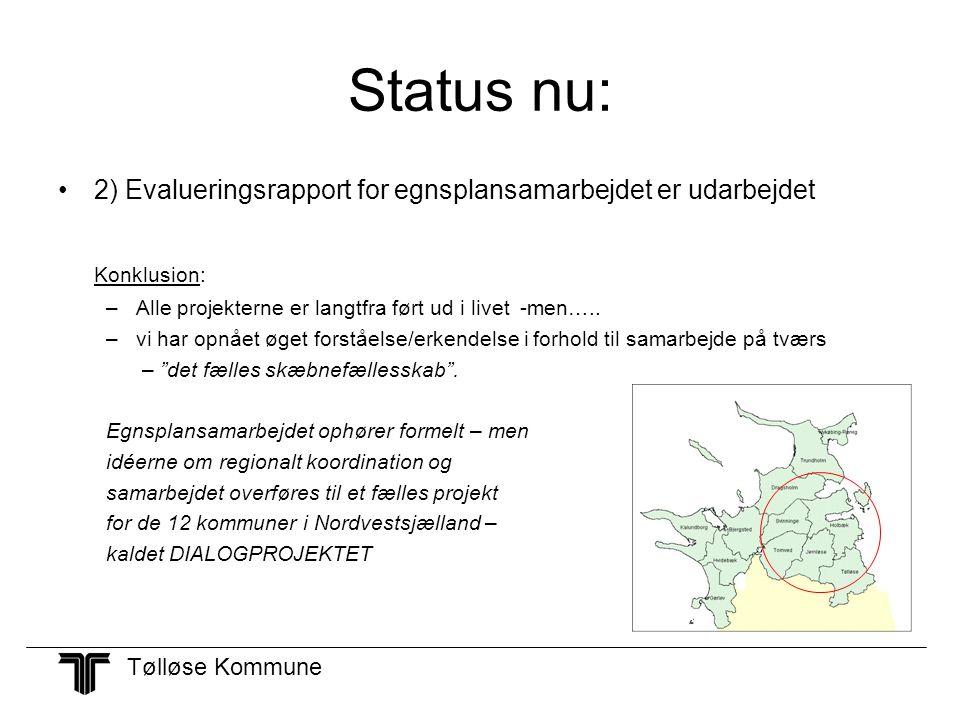 Status nu: Konklusion: