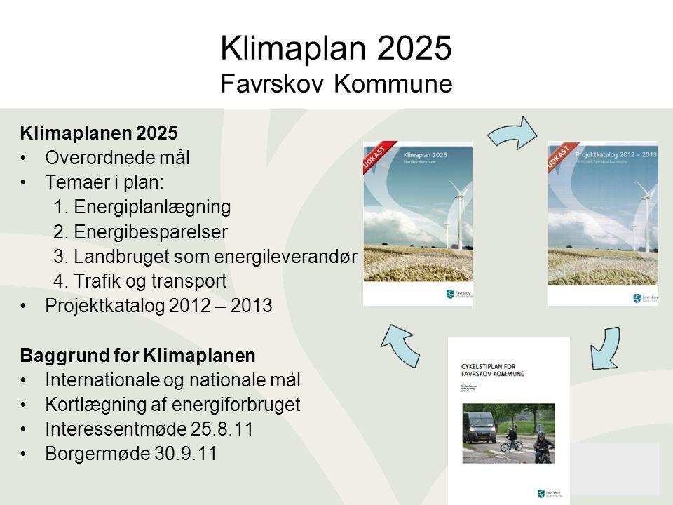 Klimaplan 2025 Favrskov Kommune