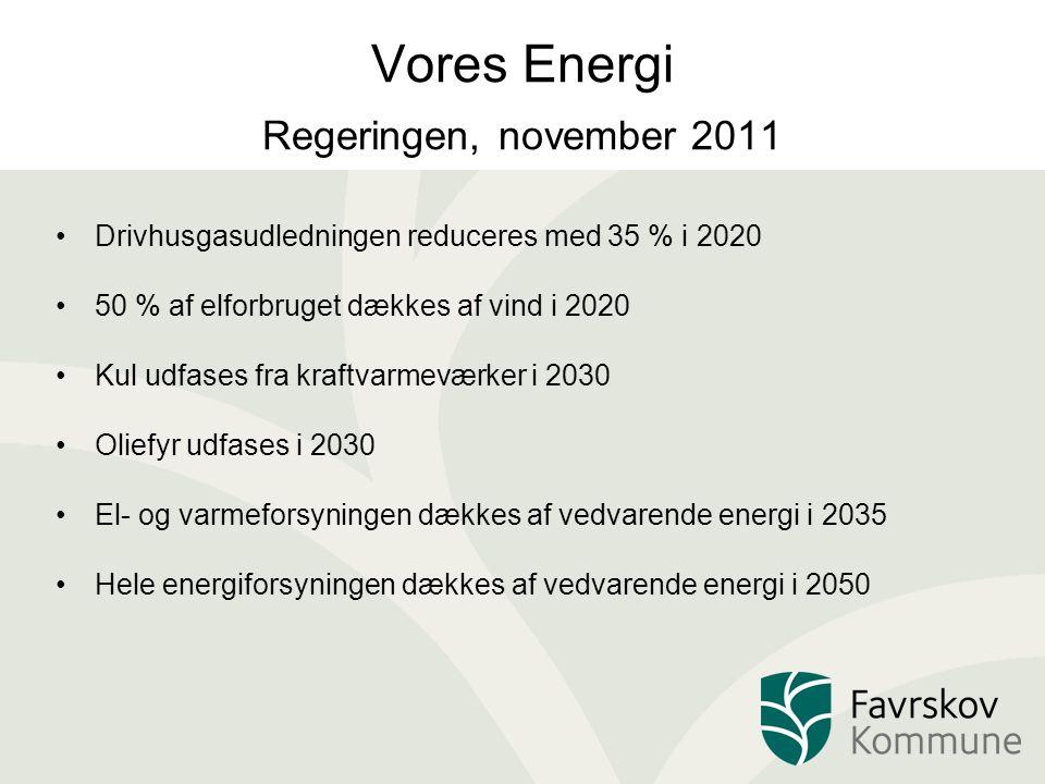 Vores Energi Regeringen, november 2011