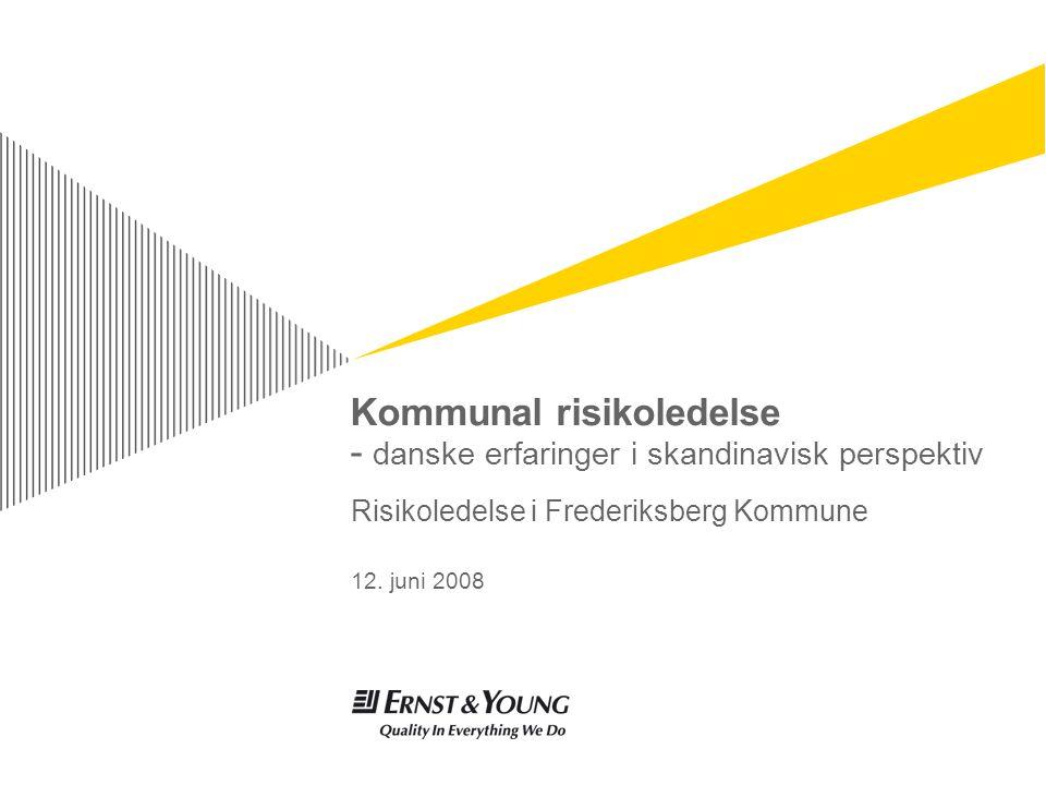 Kommunal risikoledelse - danske erfaringer i skandinavisk perspektiv