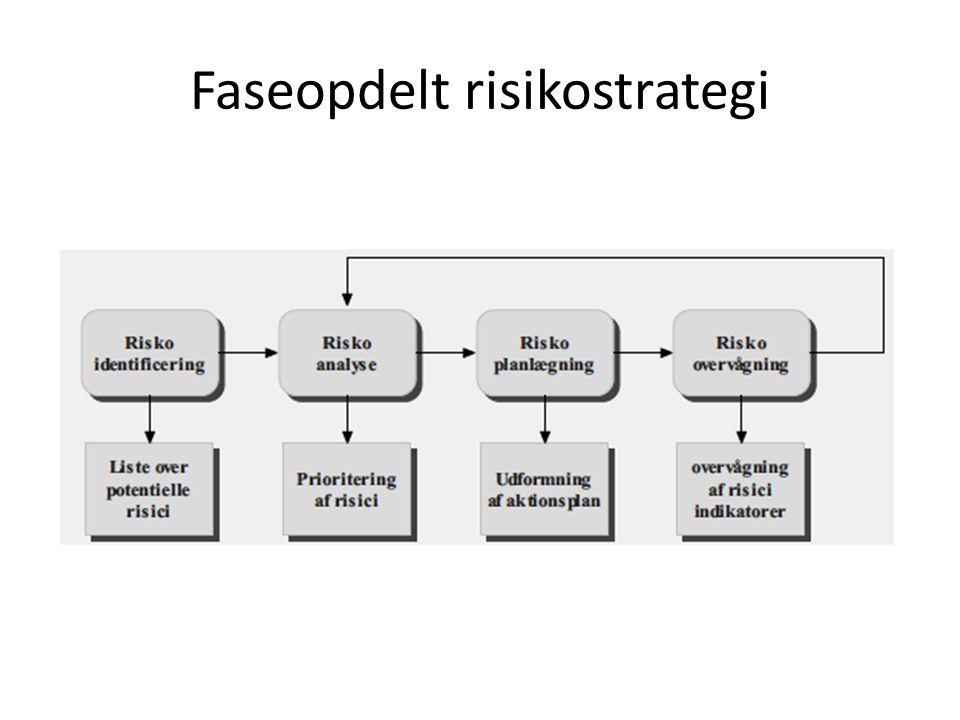 Faseopdelt risikostrategi