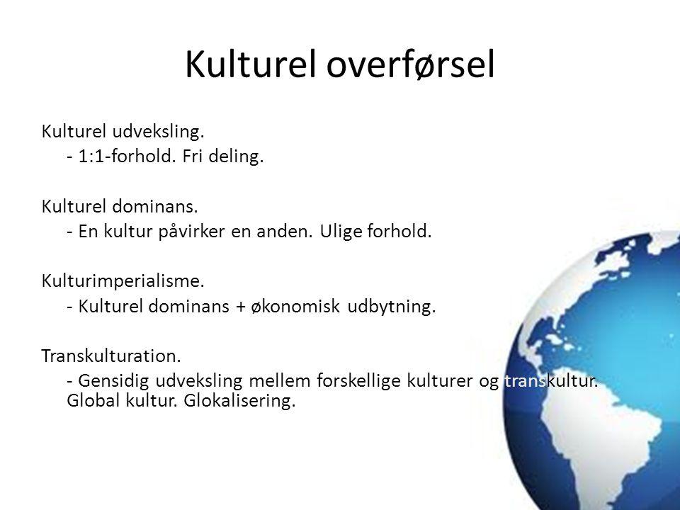 Kulturel overførsel