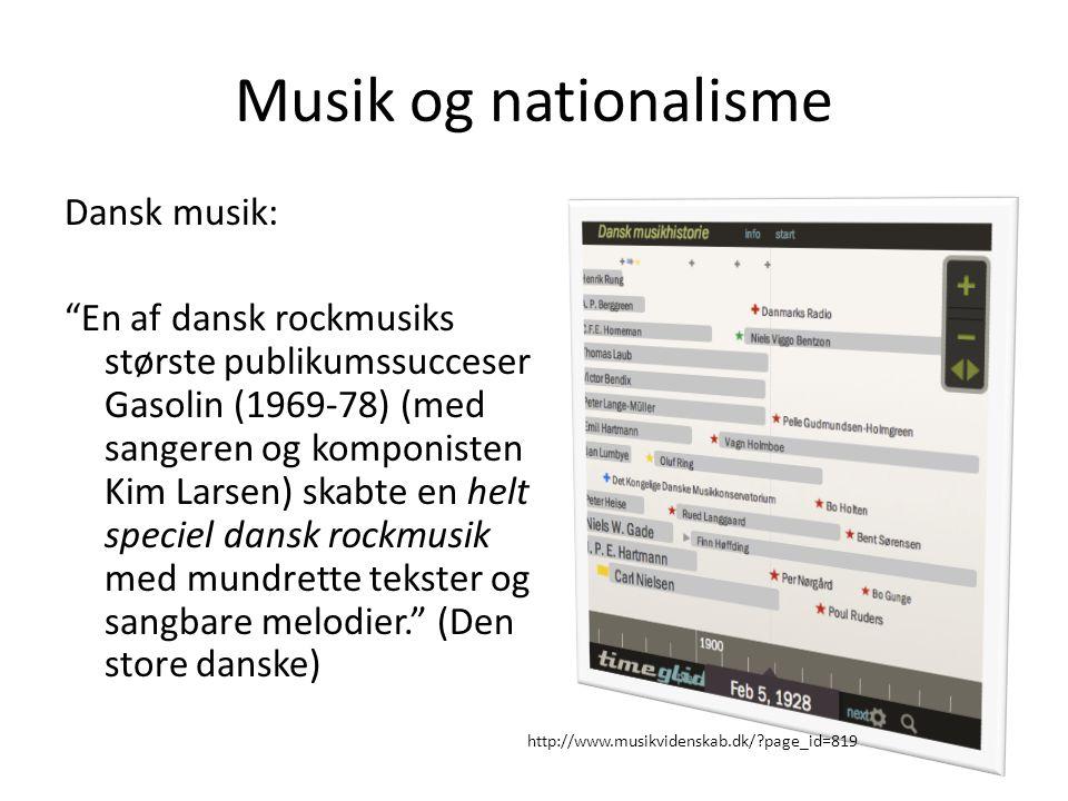 Musik og nationalisme