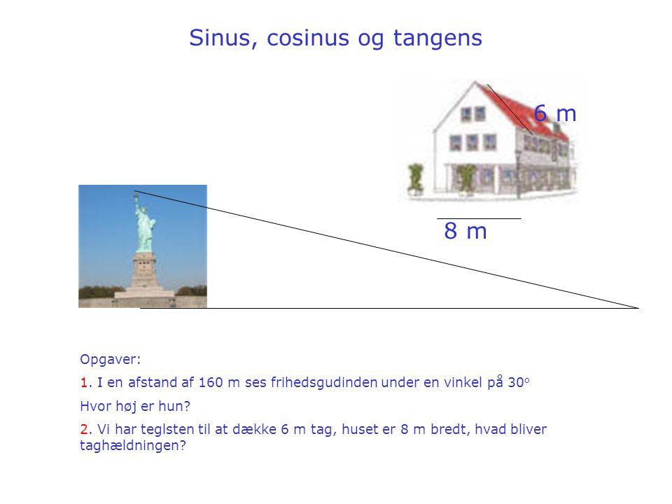 Sinus, cosinus og tangens