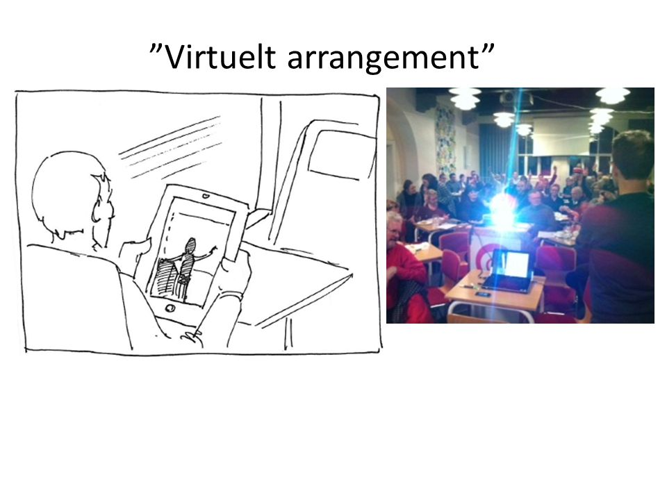 Virtuelt arrangement