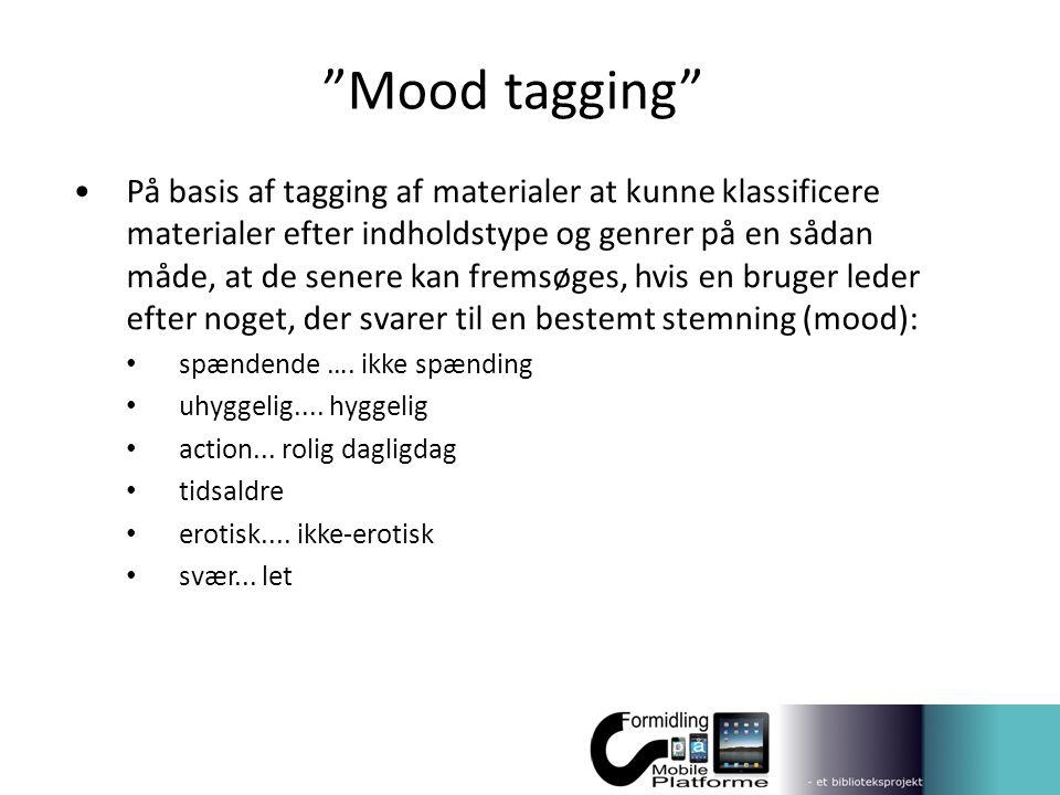 Mood tagging