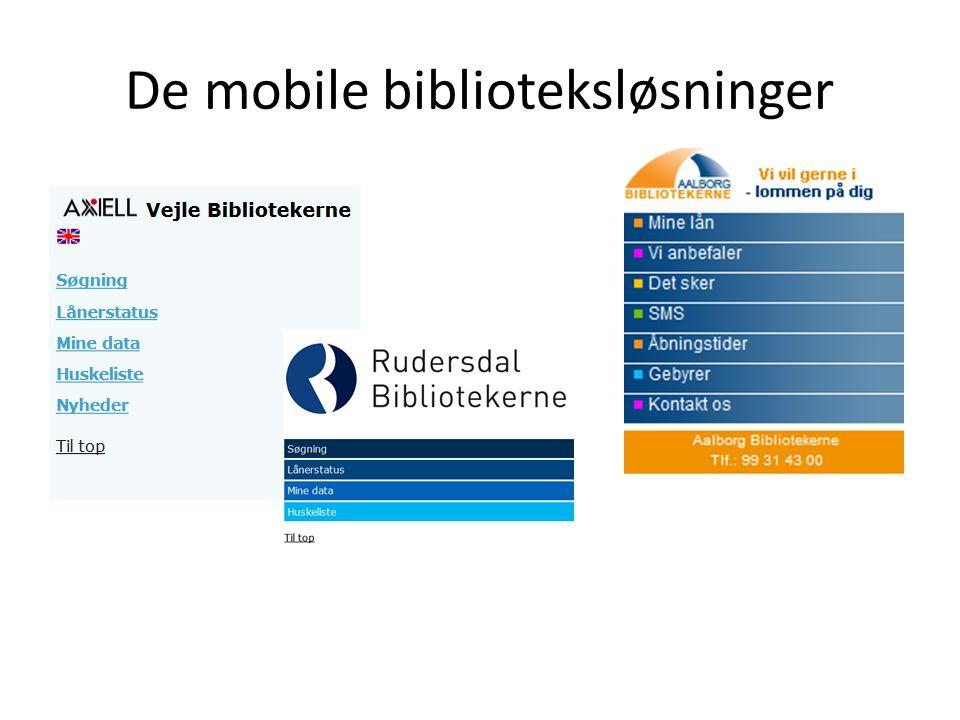 De mobile biblioteksløsninger