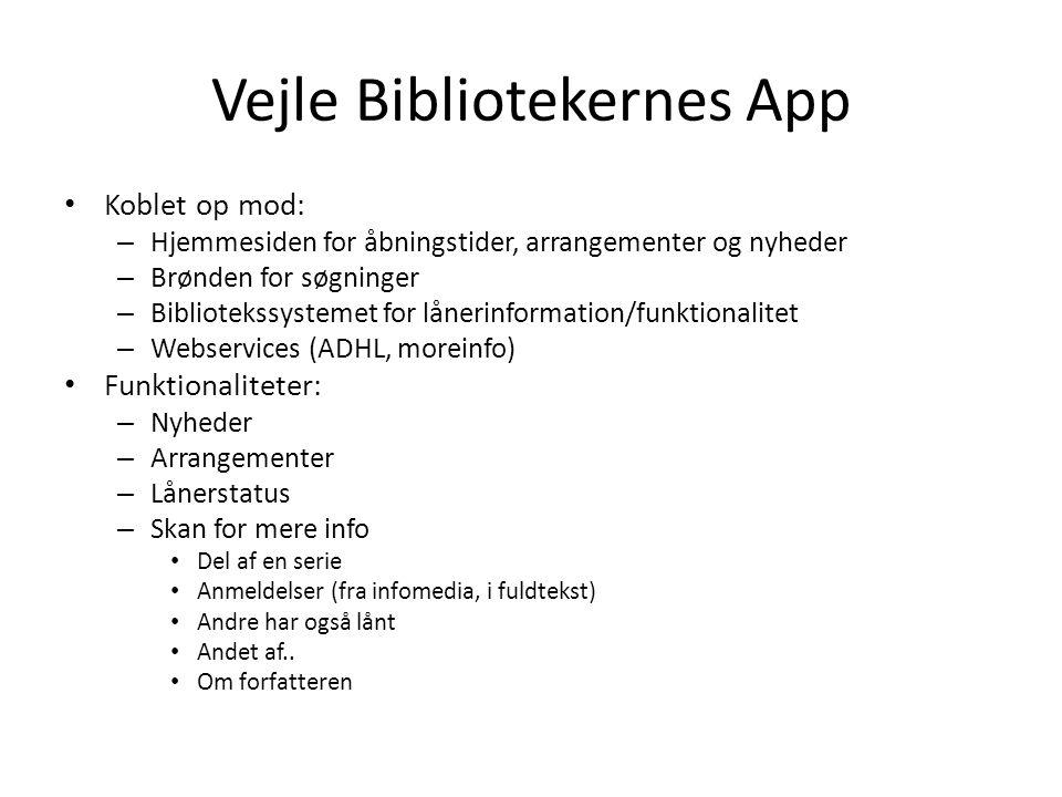 Vejle Bibliotekernes App