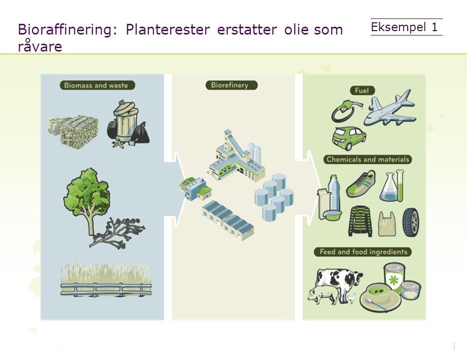 Bioraffinering: Planterester erstatter olie som råvare