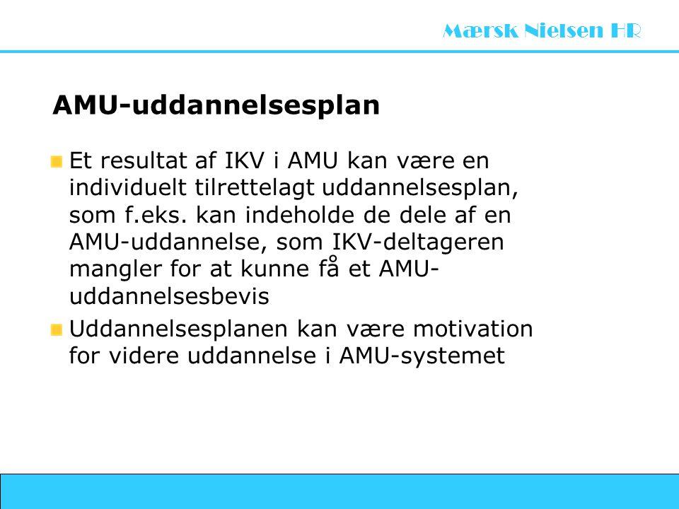 AMU-uddannelsesplan