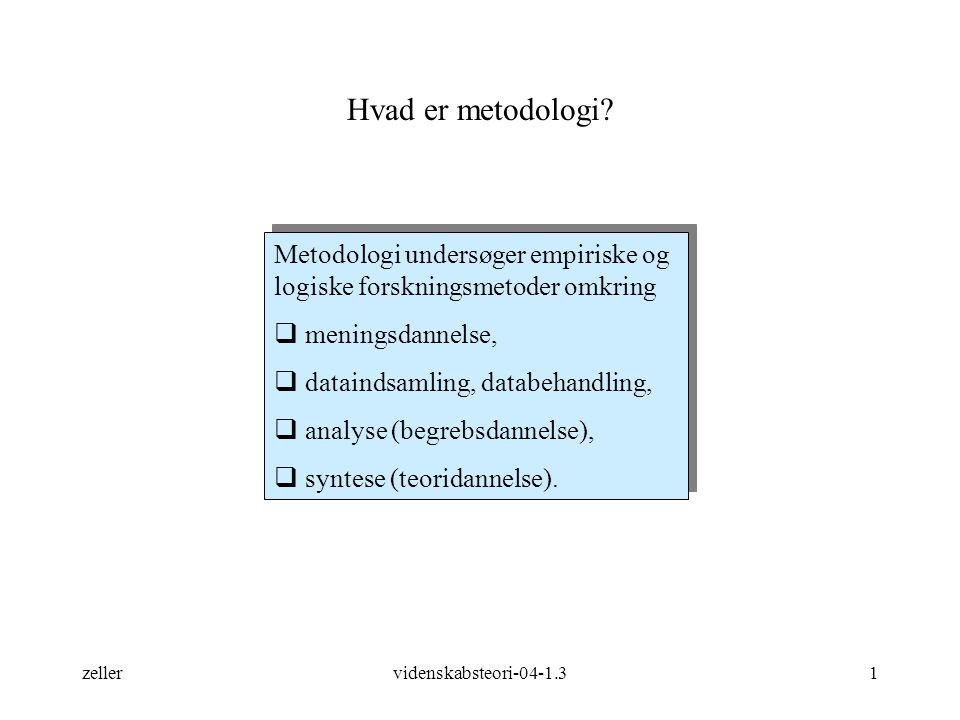 Hvad er metodologi Metodologi undersøger empiriske og logiske forskningsmetoder omkring. meningsdannelse,