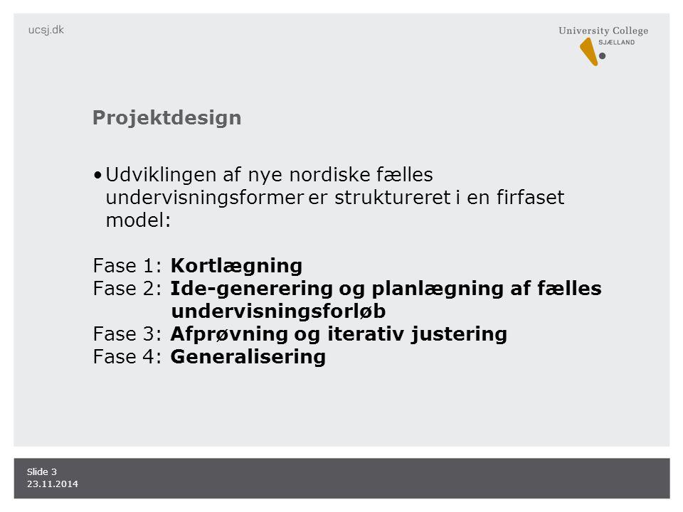Fase 2: Ide-generering og planlægning af fælles undervisningsforløb