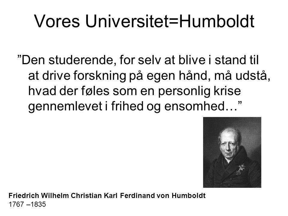 Vores Universitet=Humboldt