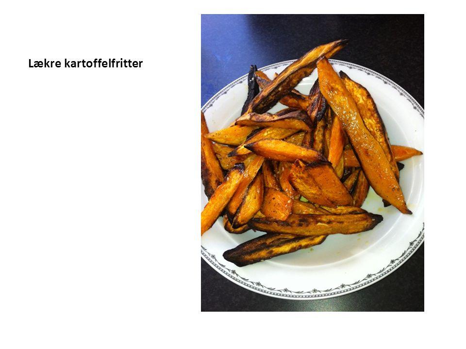 Lækre kartoffelfritter