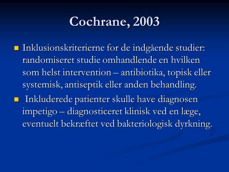 Cochrane, 2003