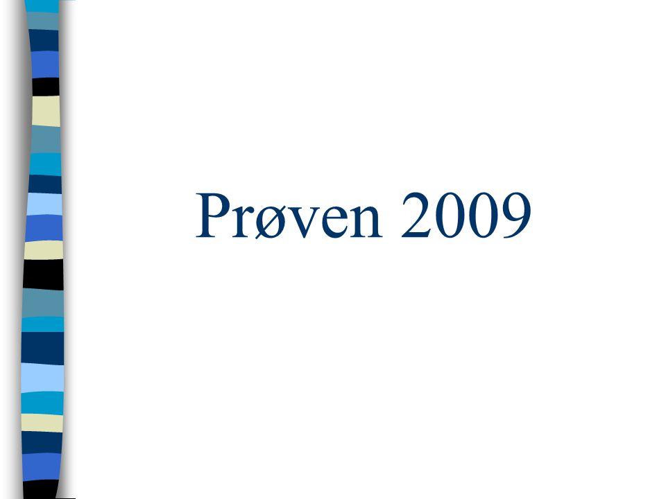Prøven 2009