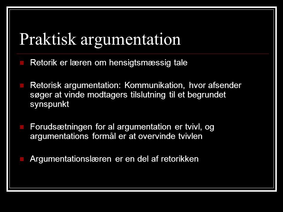 Praktisk argumentation