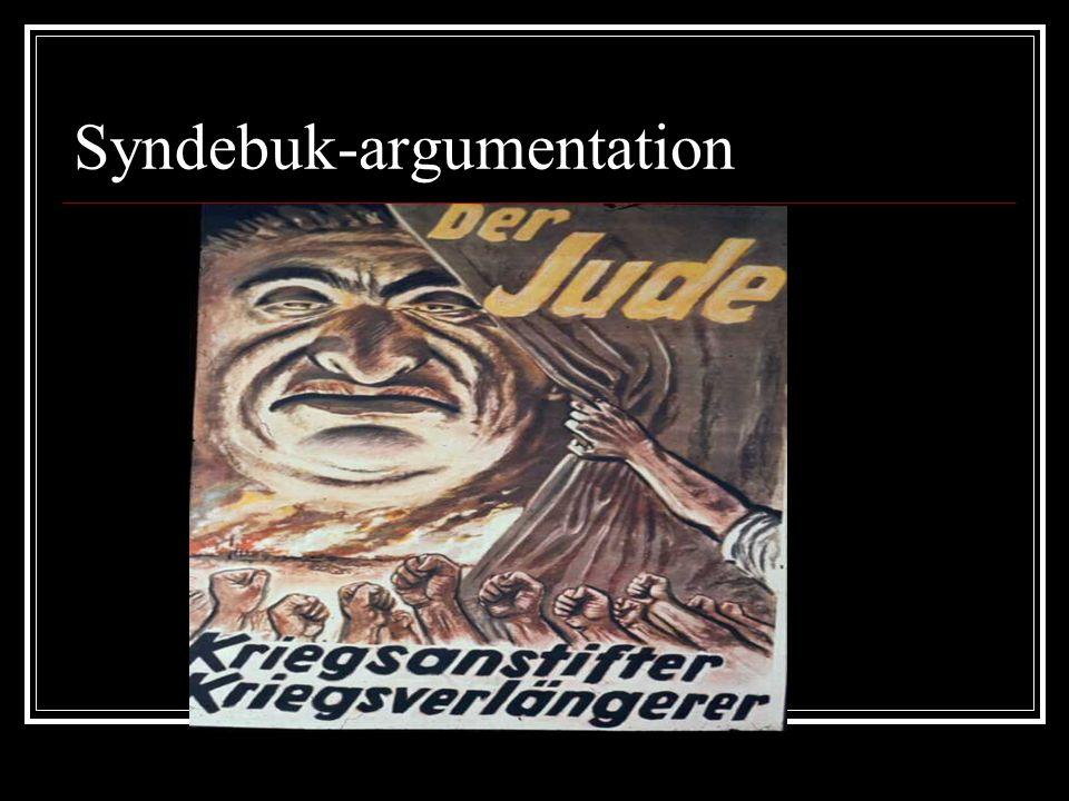 Syndebuk-argumentation