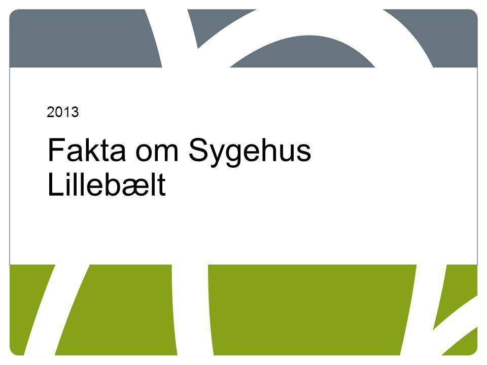 Fakta om Sygehus Lillebælt
