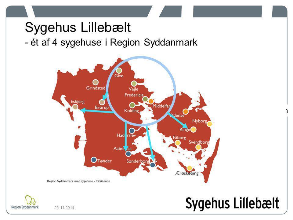 Sygehus Lillebælt - ét af 4 sygehuse i Region Syddanmark