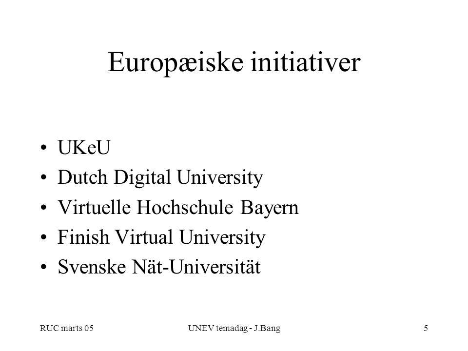 Europæiske initiativer