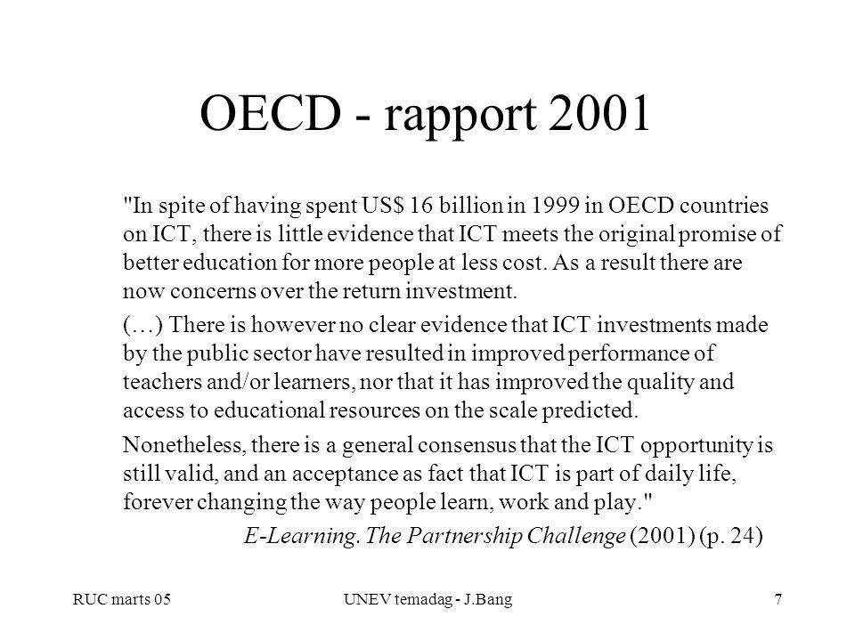 OECD - rapport 2001