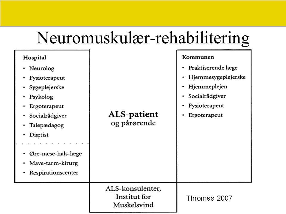 Neuromuskulær-rehabilitering