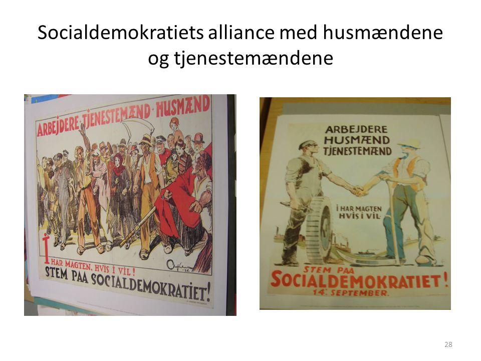 Socialdemokratiets alliance med husmændene og tjenestemændene
