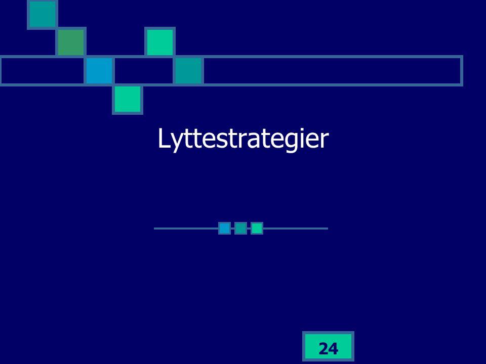 Lyttestrategier