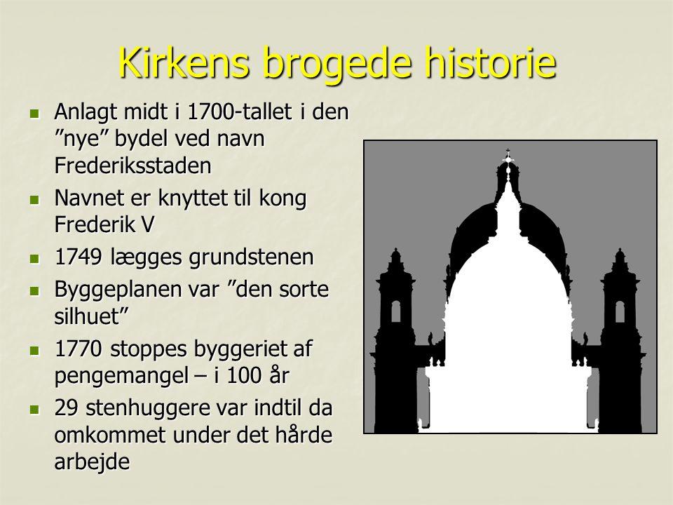 Kirkens brogede historie