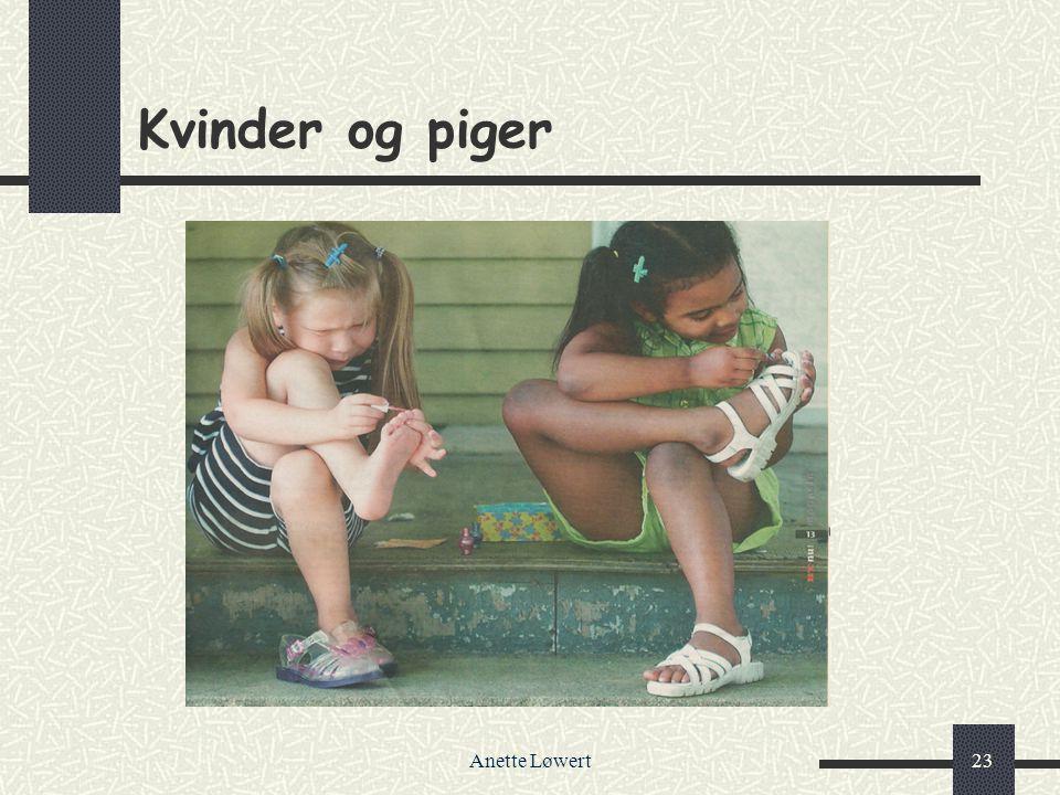 Kvinder og piger Anette Løwert