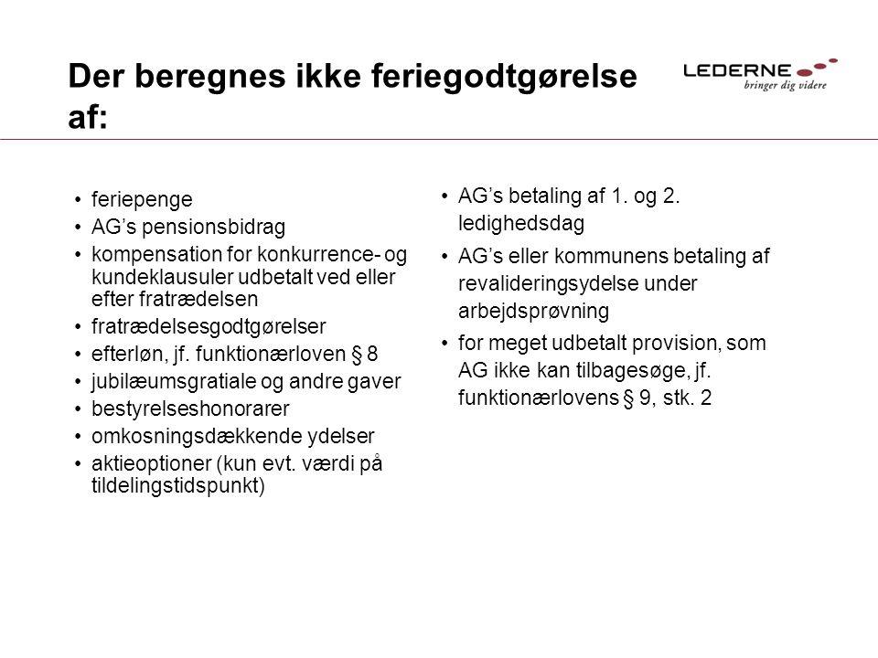 Feriereglerne - workshop for Erfagruppen Epos Løn - ppt video online download