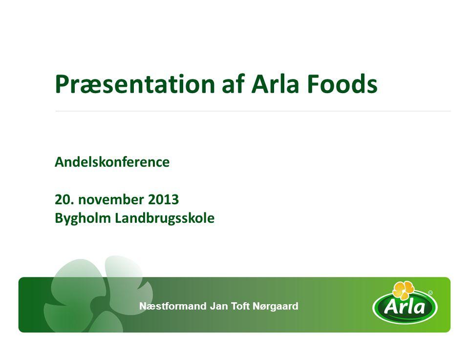 Præsentation af Arla Foods