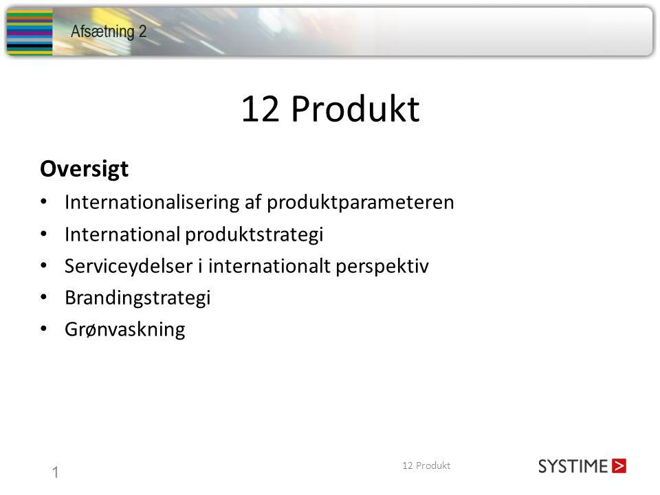 12 Produkt Oversigt Internationalisering af produktparameteren