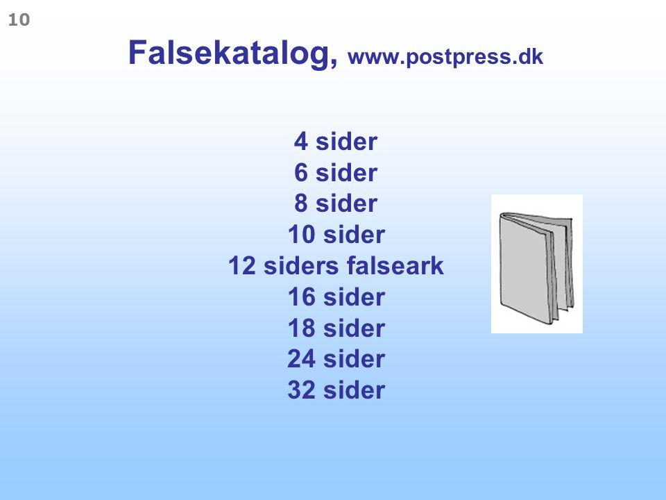 Falsekatalog, www. postpress