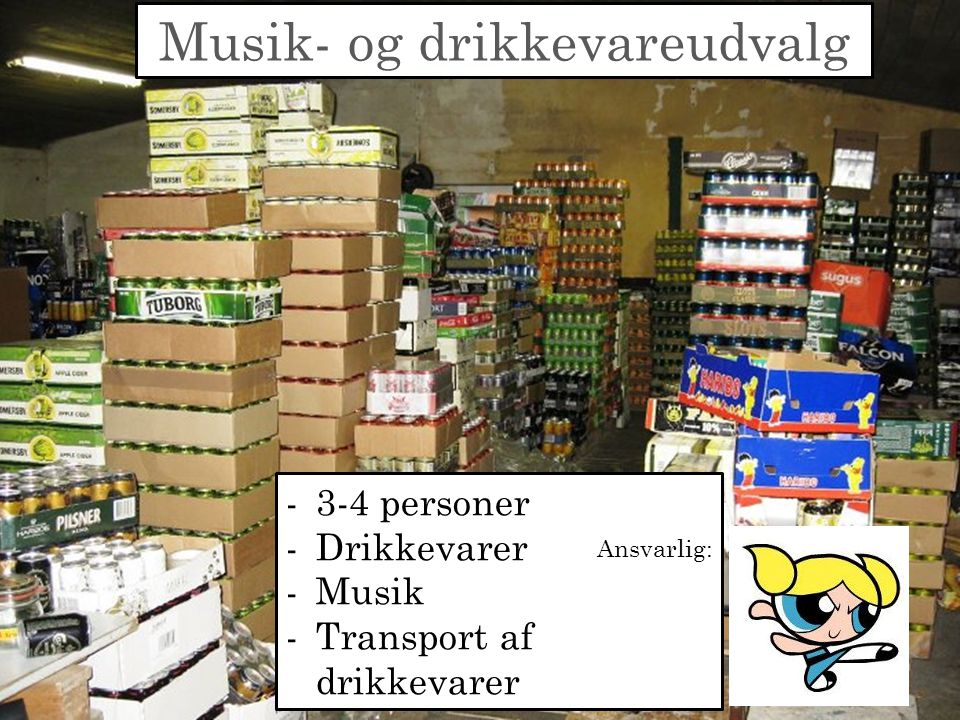 Musik- og drikkevareudvalg