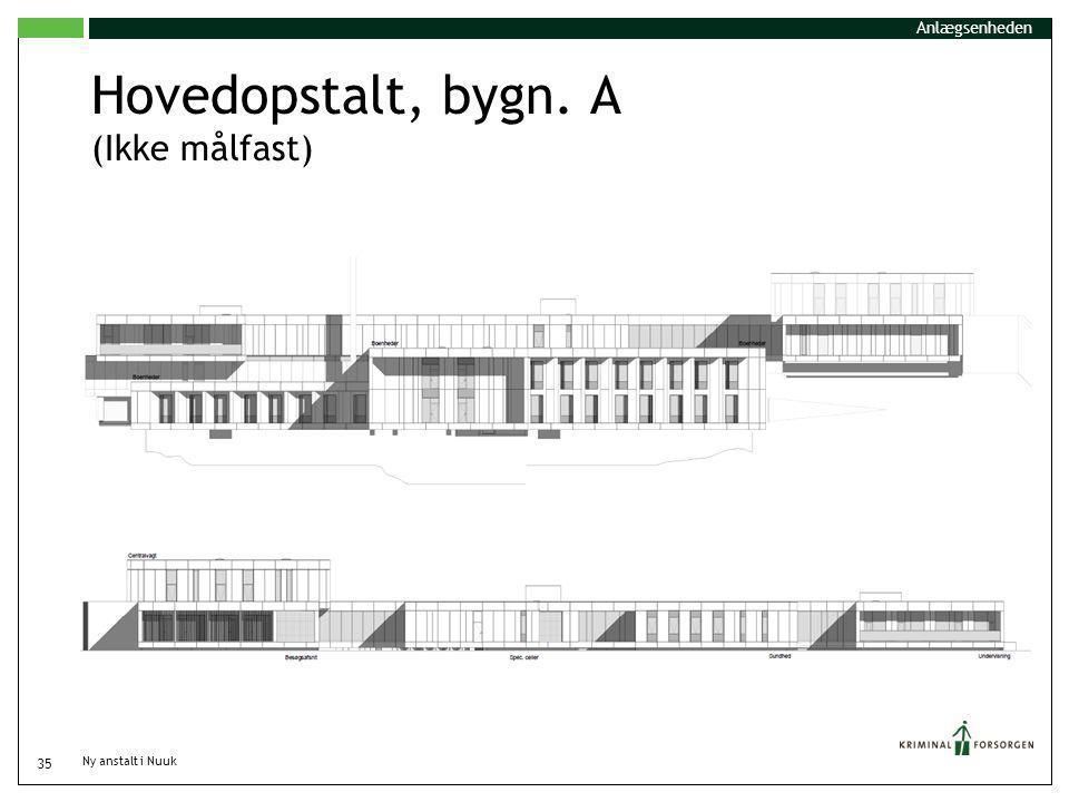 Hovedopstalt, bygn. A (Ikke målfast)