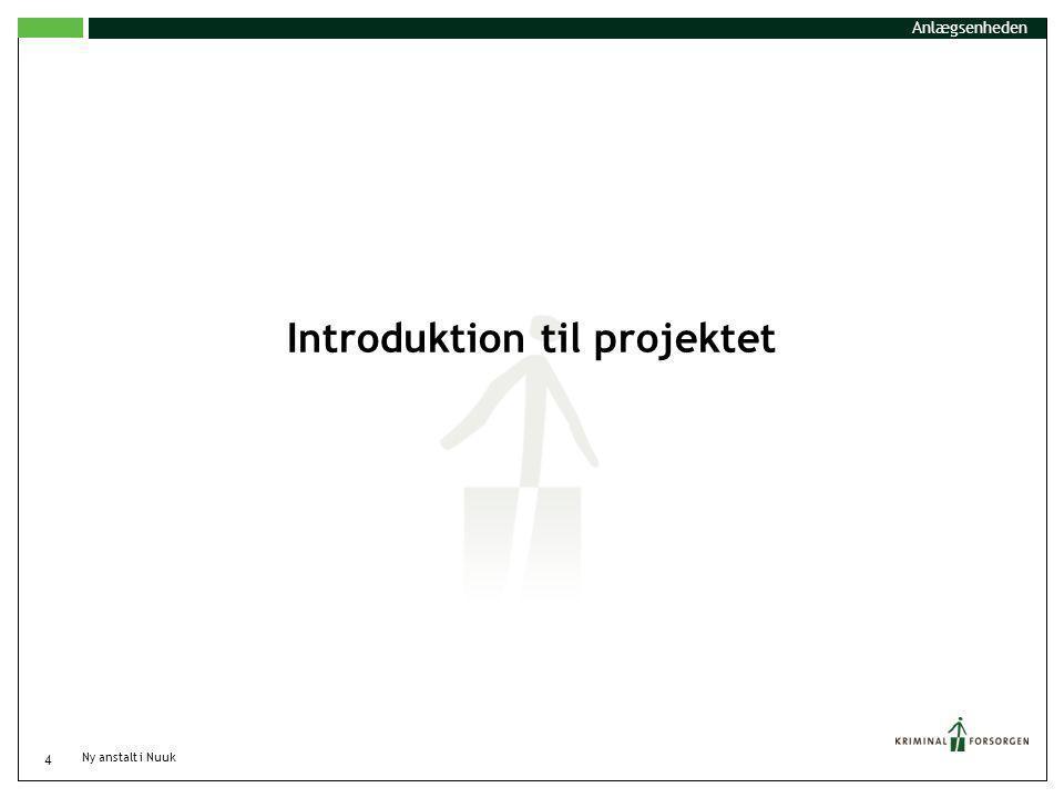 Introduktion til projektet