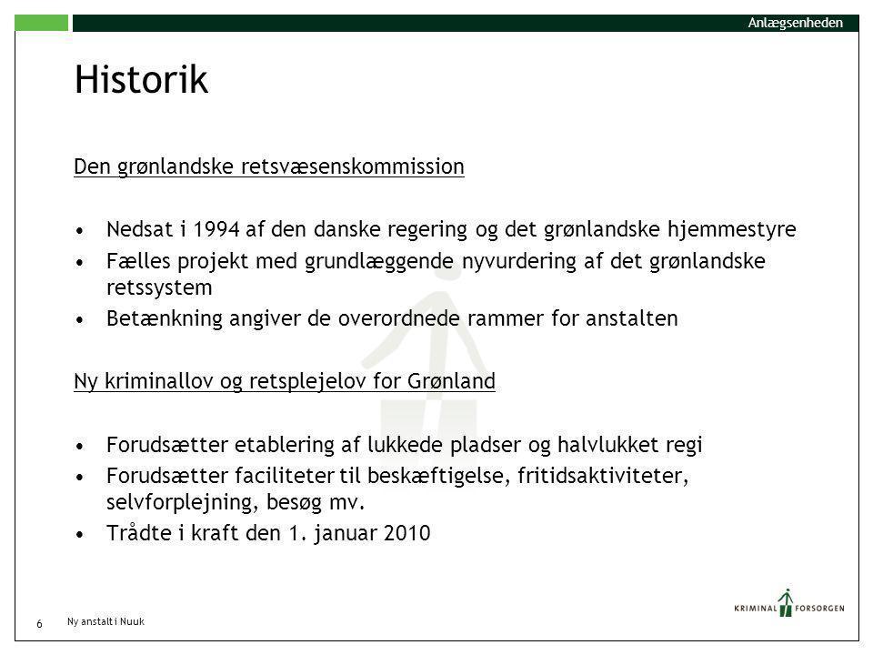 Historik Den grønlandske retsvæsenskommission