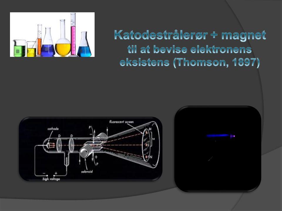 Katodestrålerør + magnet