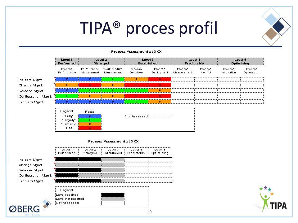 TIPA® proces profil 19