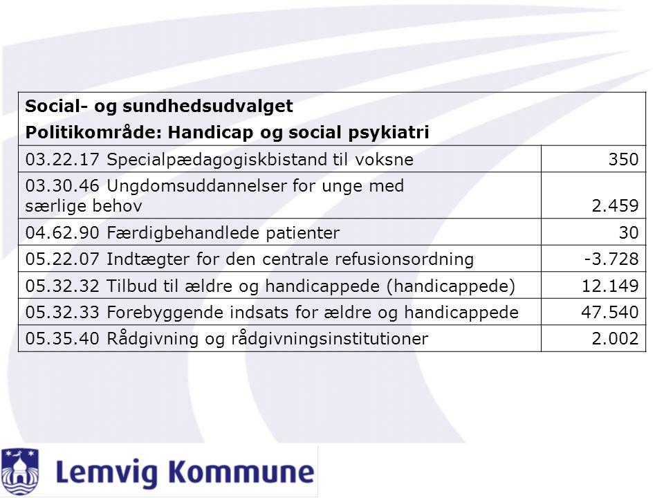 Social- og sundhedsudvalget