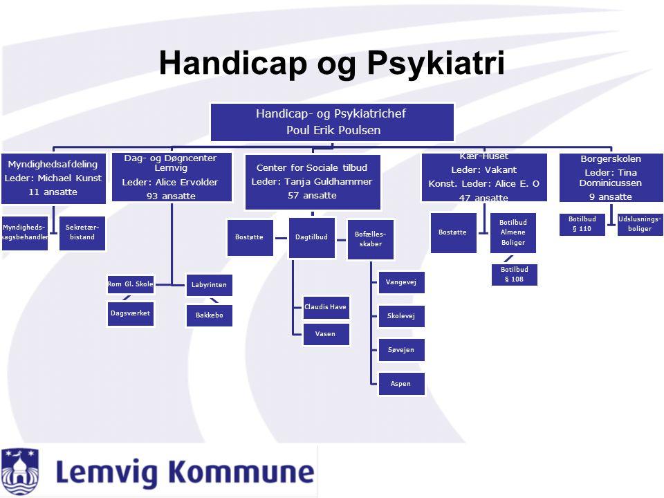 Handicap og Psykiatri Handicap- og Psykiatrichef Poul Erik Poulsen
